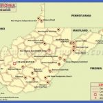 West Virginia Travel Attractions Map | WV mountain mama, take me home ...