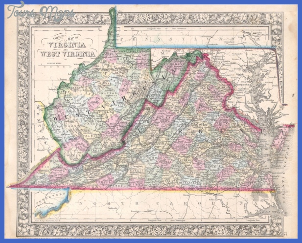 File:1864 Mitchell Map of Virginia, West Virginia, and Maryland ...