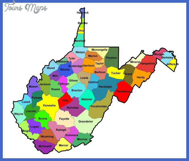west virginia metro map 19 West Virginia Metro Map