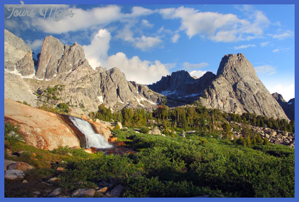 ... in the Morning Light, Cirque of the Towers, Wind River Range, Wyoming