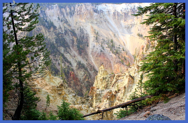 Yellowstone Canyon Colors Print by Jane Merrit