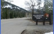 Yellowstone National Park East Entrance