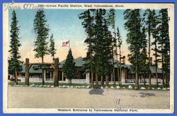 yellowstone west entrance 10 Yellowstone: WEST ENTRANCE