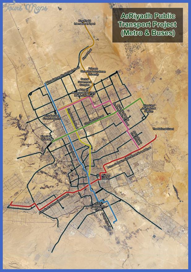 1 riyadh metro map Riyadh Metro Map