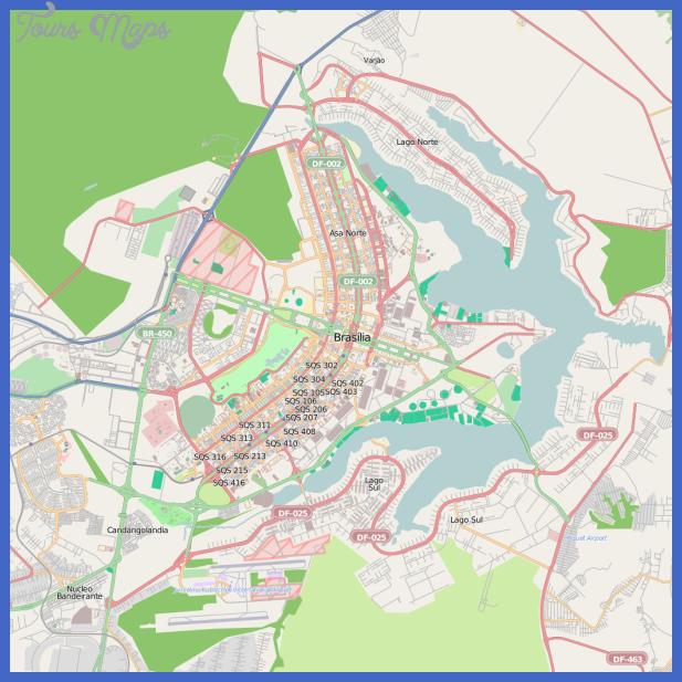 1030px map of brasc3adlia and surrounding areas svg Brasilia Map
