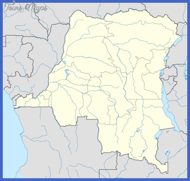 1075px democratic republic of the congo location map svg Congo, Democratic Republic Map