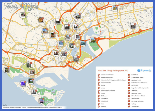 1280px singapore printable tourist attractions map Kuwait Map Tourist Attractions
