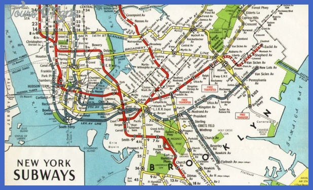 1944 board of transportation map 1024x611 Irving Subway Map