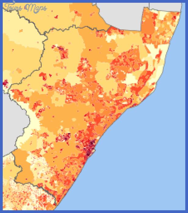 220px kwazulu natal 2001 population density map svg Mozambique Map