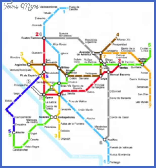220px madrid metro map 1977 Fresno Metro Map