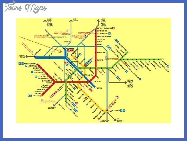 2434100 subway map milan Milan Subway Map