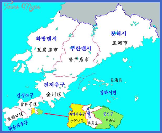 500px dalian map Dalian Map