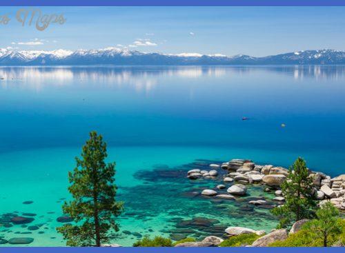 lake tahoe in winters