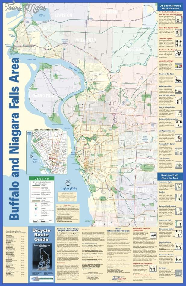 Buffalo Subway Map.Buffalo Subway Map Toursmaps Com
