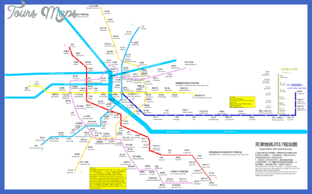 800px tianjin metro plan Tianjin Subway Map
