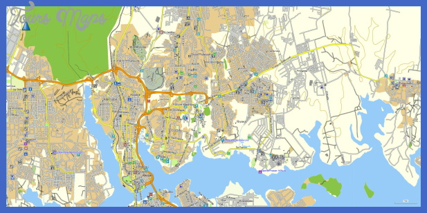 abidjan Cote dIvoire Metro Map