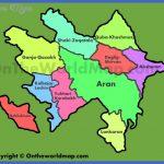 administrative map of regions in azerbaijan 150x150 Baku Sumqayit Map