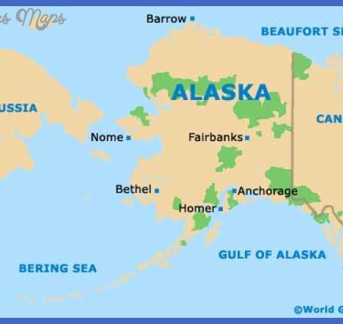 google map anchorage alaska Archives ToursMapsCom – Tourist Attractions Map In Alaska