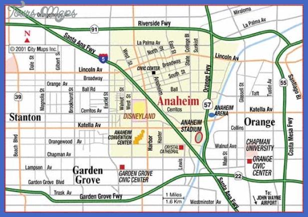 anaheimdisney Anaheim Metro Map