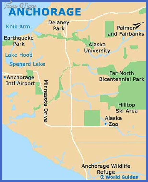 anchorage municipality map tourist attractions  2 Anchorage municipality Map Tourist Attractions