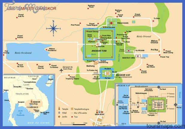 Cambodia Map Pdf