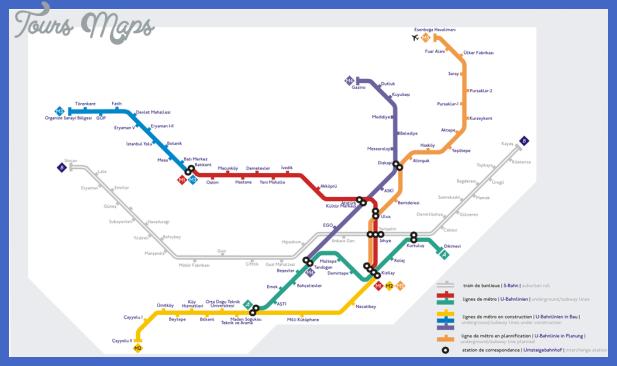 ankara metro map Turkey Metro Map