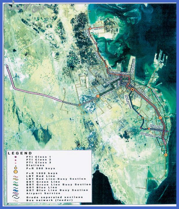 asharqia metro path Damman Metro Map
