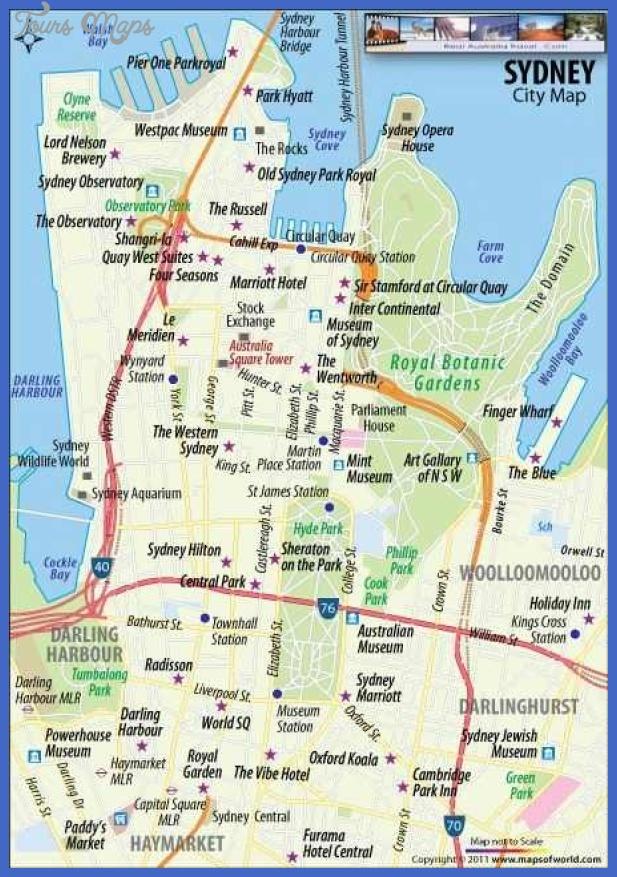australia map tourist attractions 11 Australia Map Tourist Attractions