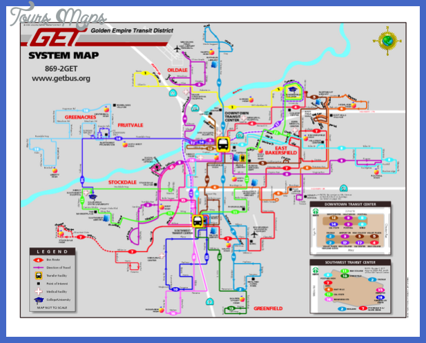 bakersfield subway map  0 Bakersfield Subway Map