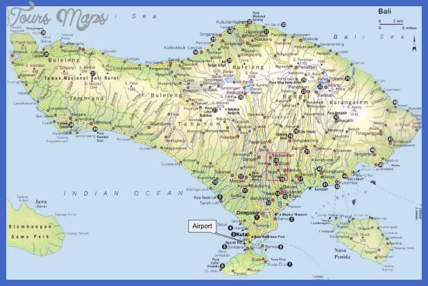 bali map Indonesia Map