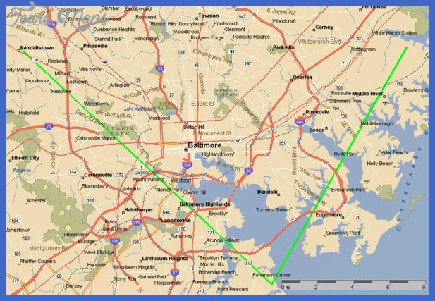 baltimore map Baltimore Map