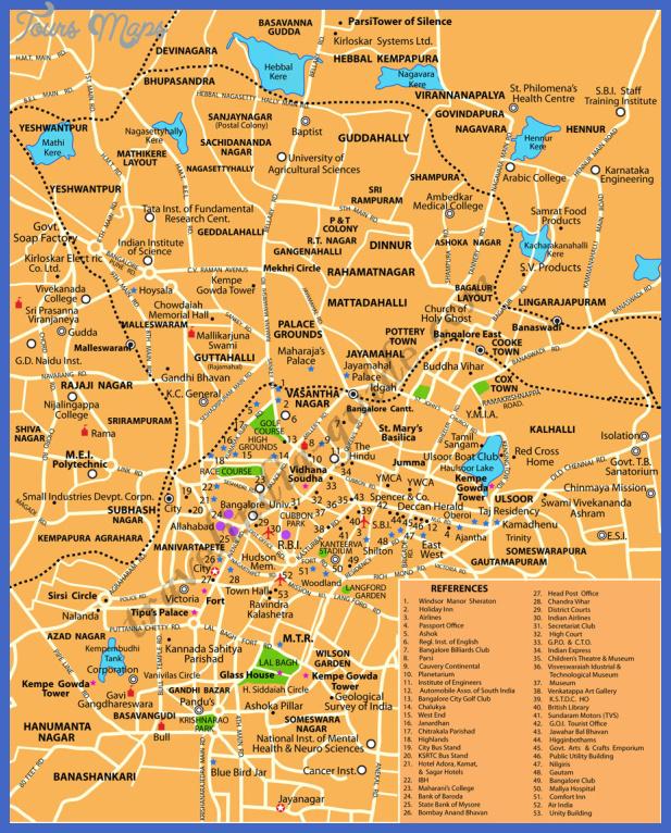 bangalore city Bangalore Map