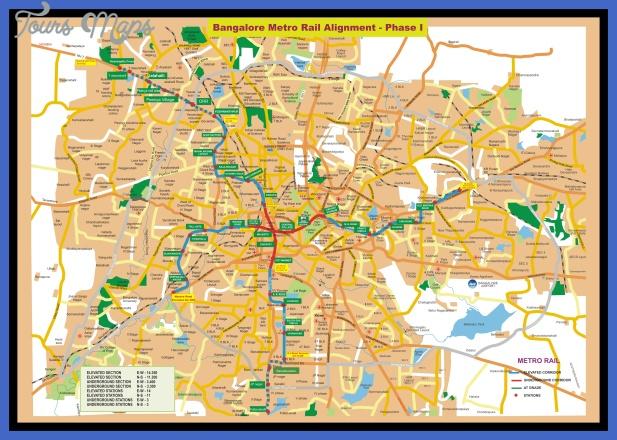 bangalore metro ph 1 detail jpg Bangalore Map