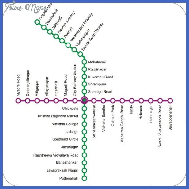 bangaloremetromap India Metro Map