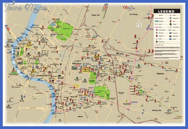 bangkok map Bangkok Metro Map