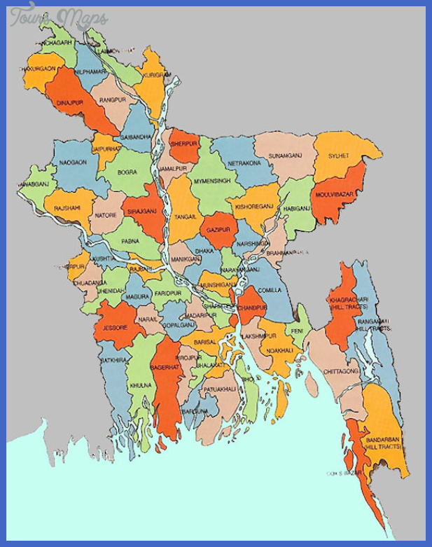 bangladesh map  9 Bangladesh Map