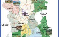 Bangladesh Tourist Map - Bangladesh • mappery