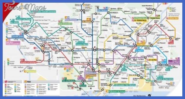 barcelona spain metro map 351x185 Spain Subway Map
