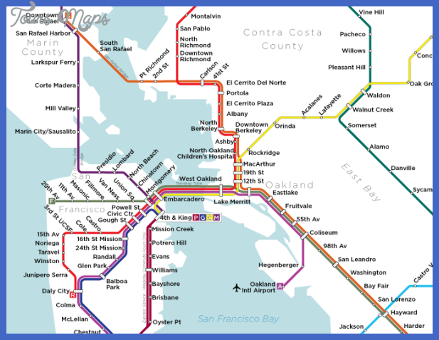 bart3 Fremont Subway Map