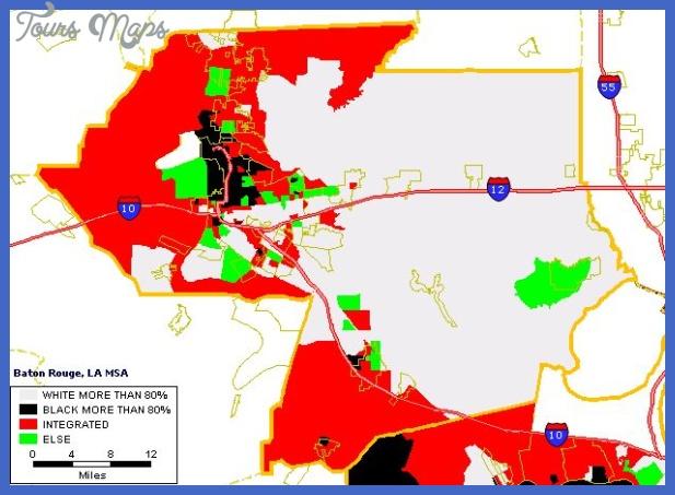batonrouge 4color Baton Rouge Metro Map