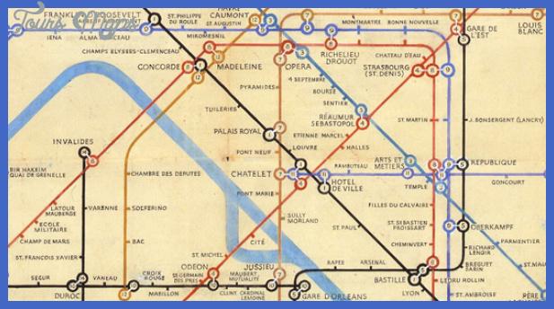 becks 2nd paris detail2 Garland Subway Map