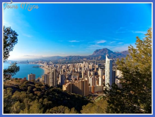 benidorm Best country for tourism