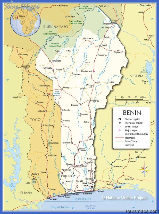 benin subway map 1 Benin Subway Map