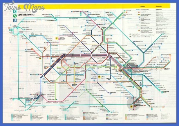 berlin subway map Germany Subway Map