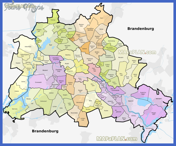 berlin top tourist attractions map 11 diagram districts boroughs neighbourhoods administrative division areas charlottenburg high resolution Charlotte Map Tourist Attractions