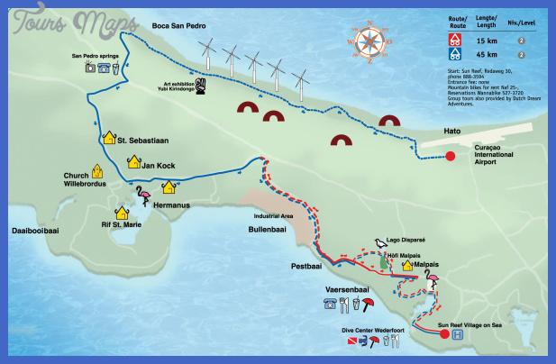 boca st michiel malpais mountain biking trail map Taichung Subway Map