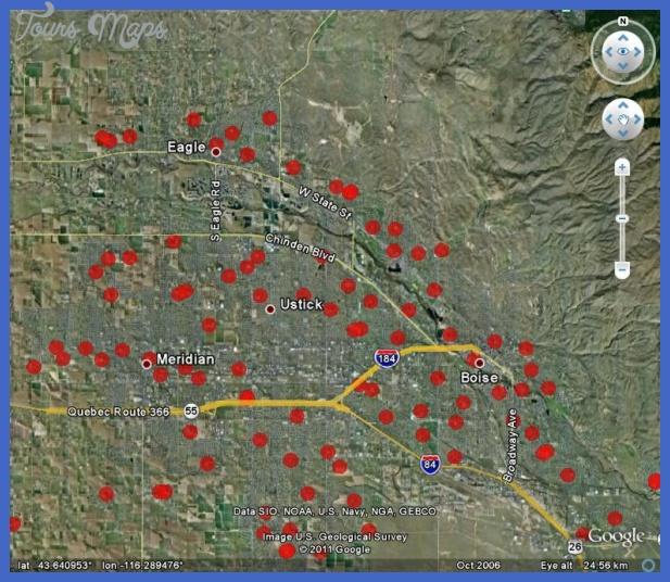 boise city metro map  10 Boise City Metro Map