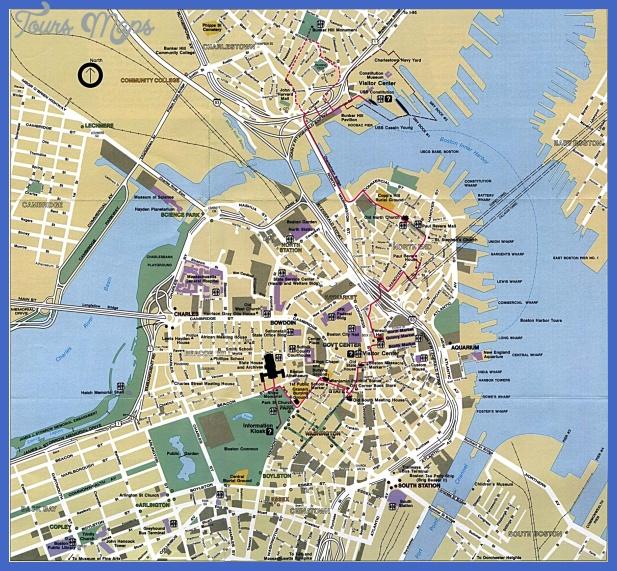 boston map  0 Boston Map