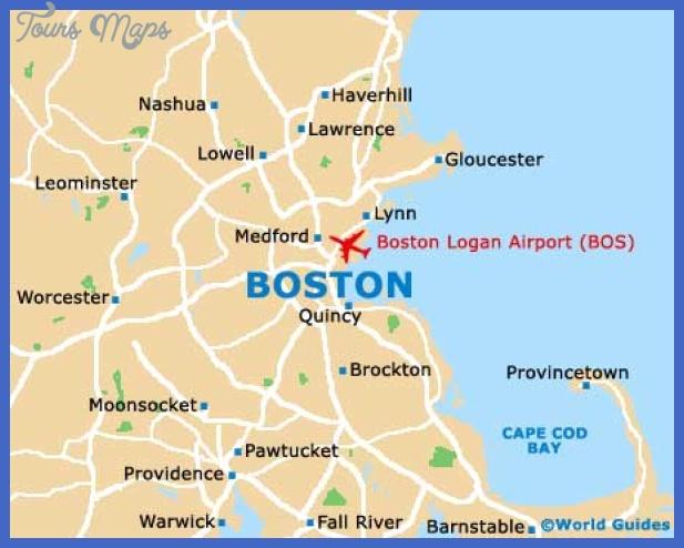 boston map Boston Map