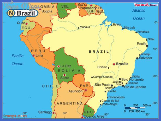 brazil map  1 Brazil Map